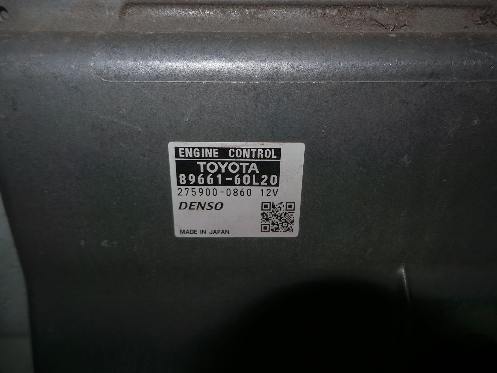 TOYOTA LANDCRUISER, Ecu, 70 SERIES (UPDATE), ENGINE ECU, 4.5, DIESEL, P/N 89661-60L20, ECU ONLY, 03/07-