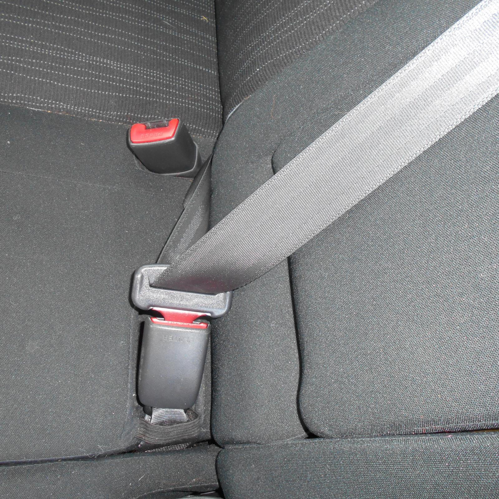 TOYOTA COROLLA, Seatbelt/Stalk, CENTRE REAR, SEAT BELT STALK ONLY, ZRE152R, HATCH, 03/07-09/12
