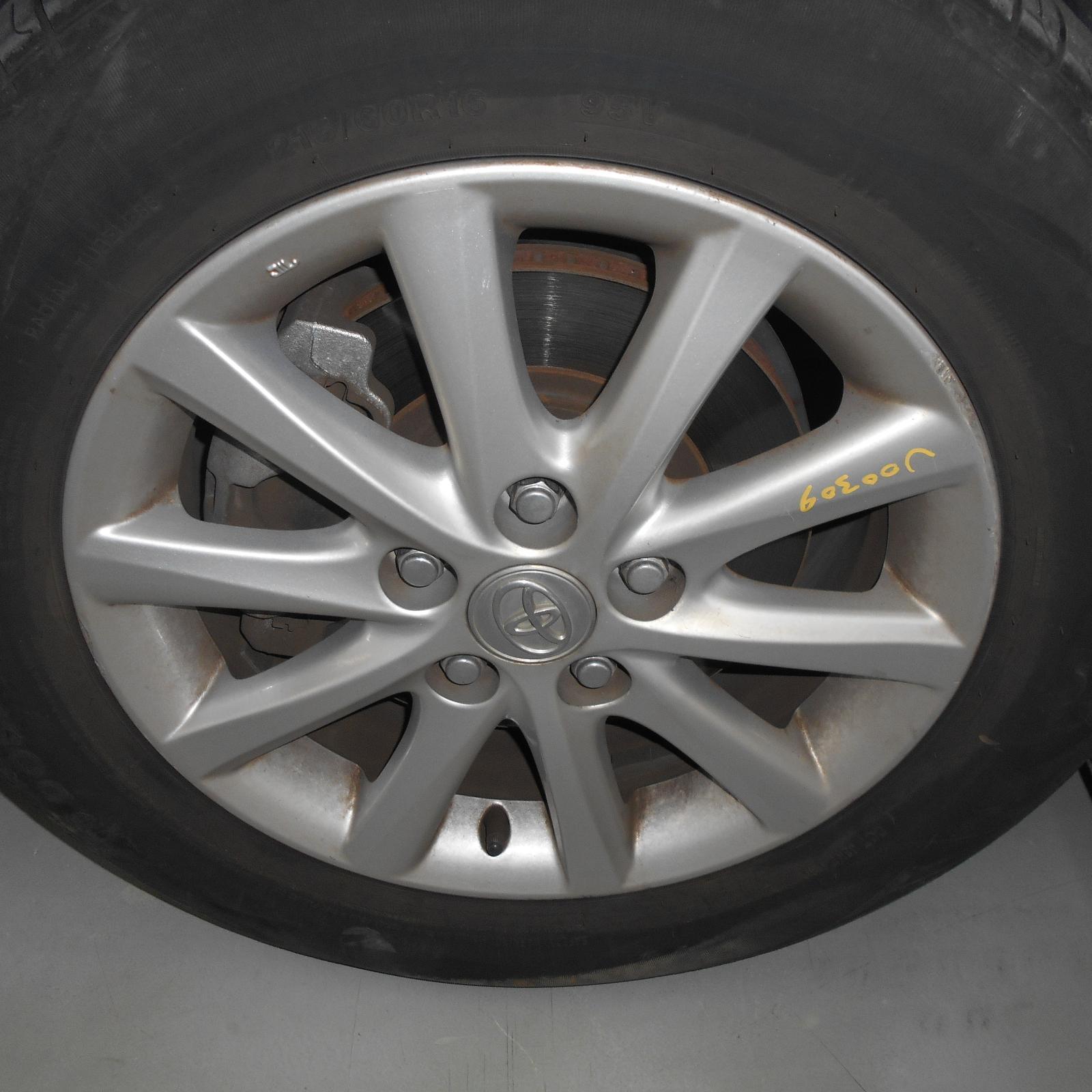TOYOTA CAMRY, Wheel Mag, FACTORY, 16X6.5IN, ACV40/AHV40, 10 SPOKE, 06/06-11/11